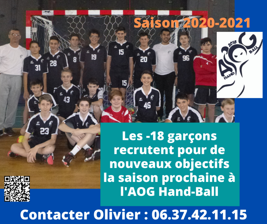 COMMUNICATION MASCULIN -18 ans 2020